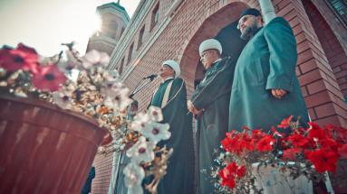 Открытие Соборной мечети в г. Бору Нижегородской области